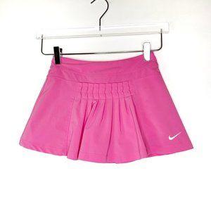 Nike Sz S Pink Pleated Tennis Skort